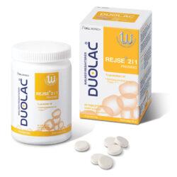 Duolac Rejse 2i1 produkt med emballage
